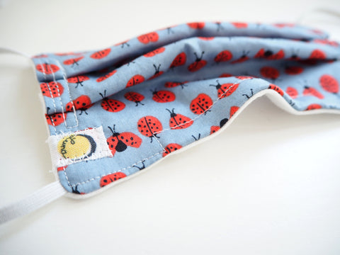 Reusable CHILD Face mask - Lady Bugs