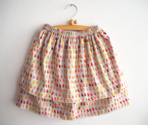 Brush strokes Skirt