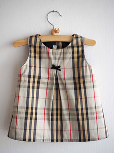 Tartan Silk Dress