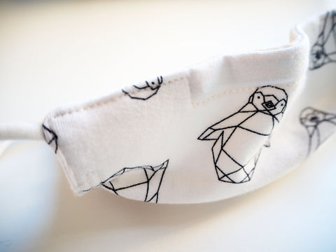 Reusable CHILD Face mask - PINGUINS