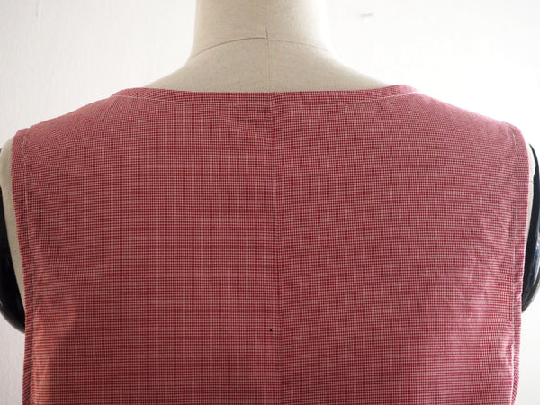 Pima Red check Top