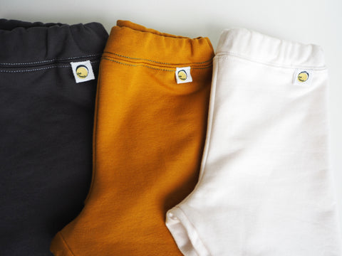 Sweat Pants Basics - White, Gray or Gold/mustard