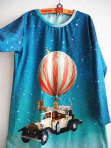 Hot air balloon Safari Dress