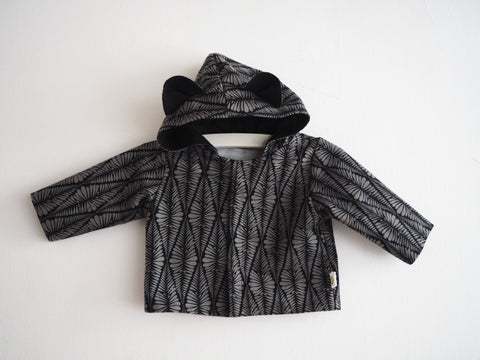 Bear Baby Jacket - Fern