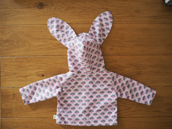Baby Bunny Jacket -Orchid