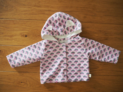 Baby Bear Jacket -Orchid