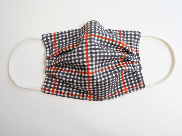 Reusable CHILD Face mask - Tartan