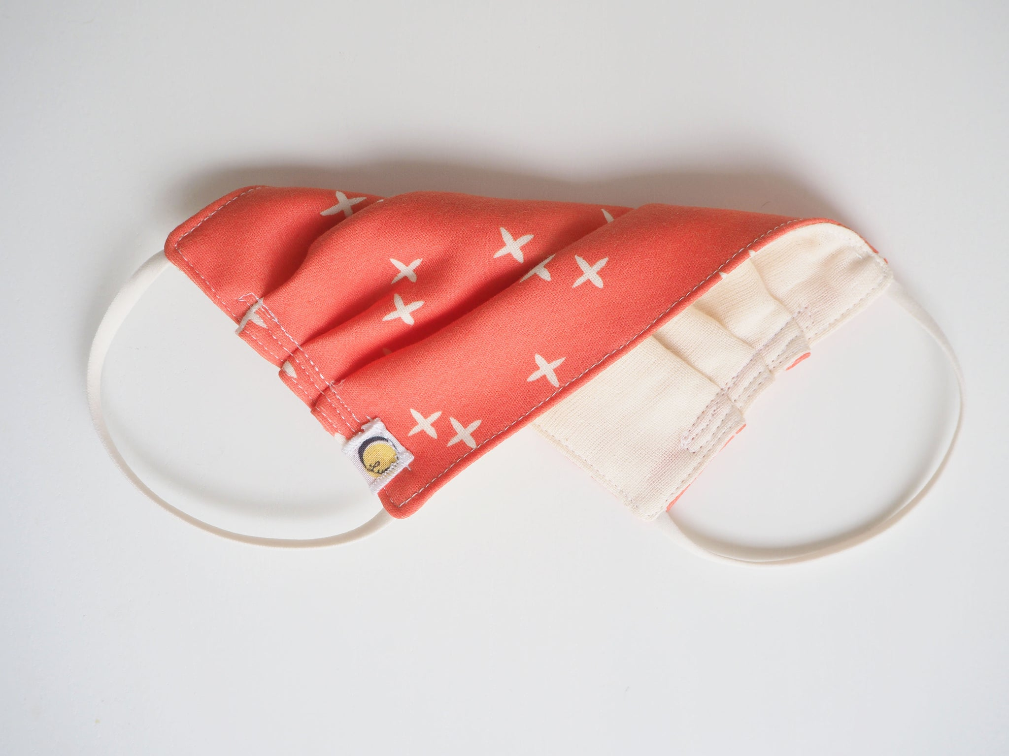Reusable CHILD Face mask - Plus Coral