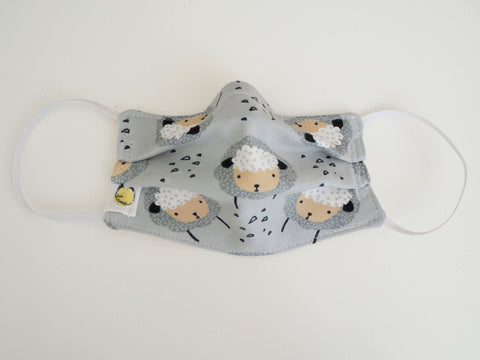 Reusable CHILD Face mask - Sheep