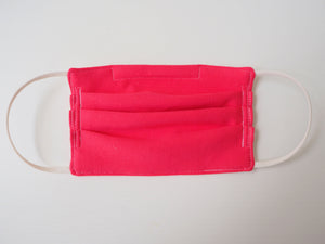 Reusable CHILD Face mask - HOT PINK