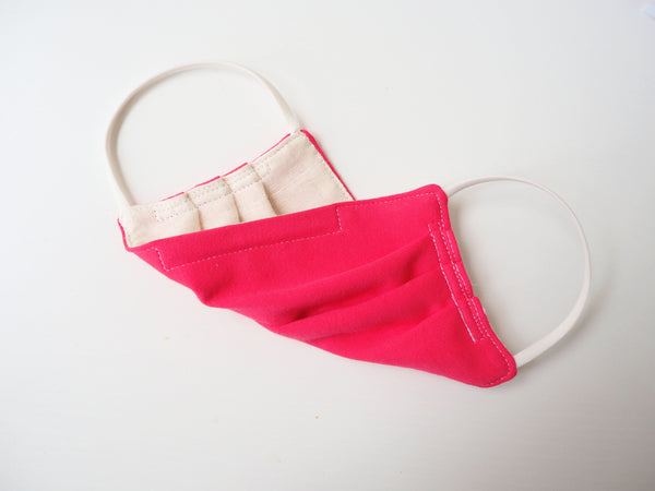 Reusable ADULT Face mask - HOT PINK