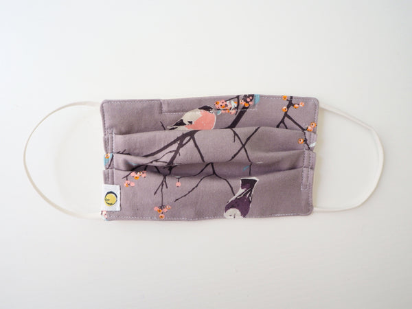 Reusable ADULT Face mask - Birds and Branches