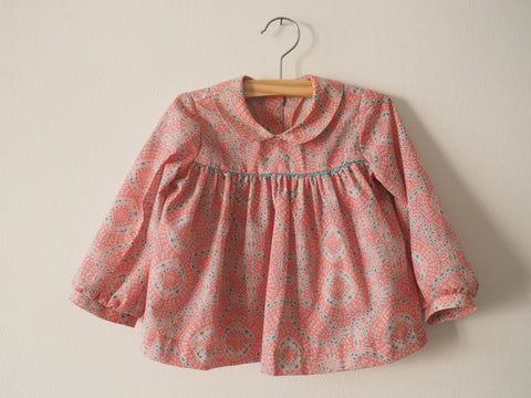 Candy blouse ~ Baby pink