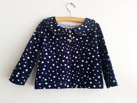 Silver dots cardigan
