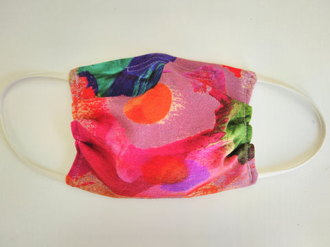 Reusable CHILD Face mask - Color Splash
