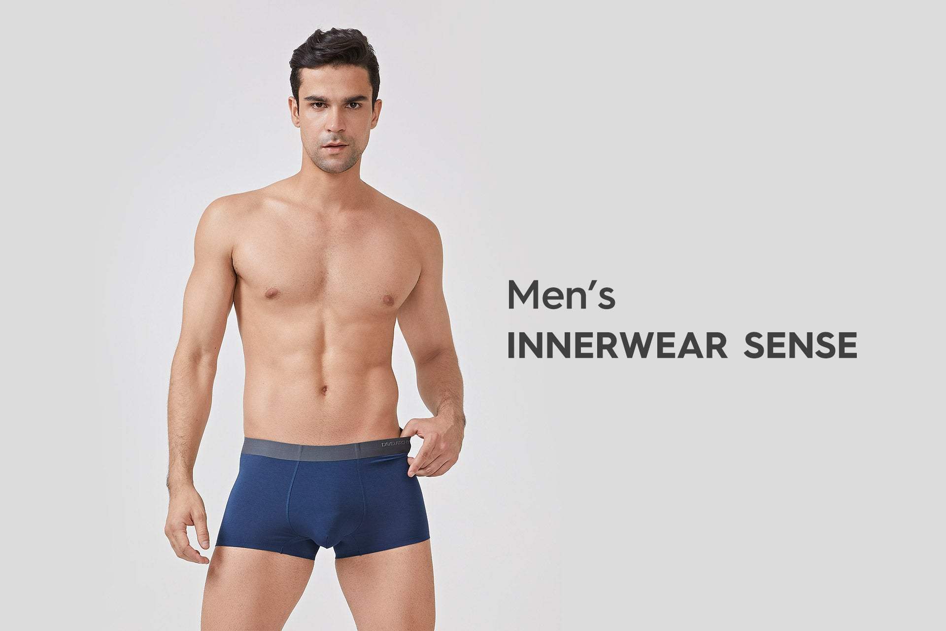 How to improve the men' s inner wear sense