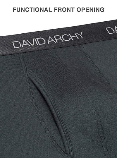 David Archy® Men's Warm Fleece Lined Thermal Set-David Archy