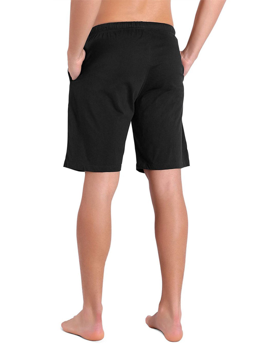 Soft Comfy Cotton Knit Sleep Shorts