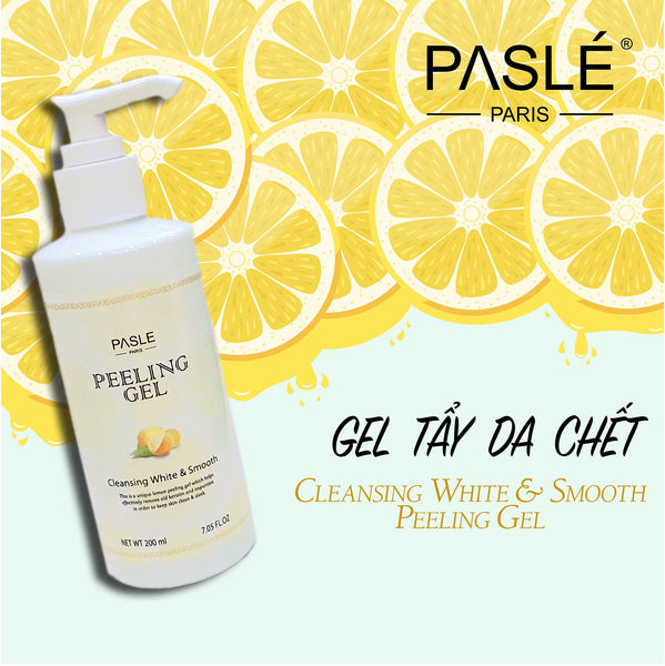 CLEANSING WHITE & SMOOTH<br> PEELING GEL <br> GEL TẨY TẾ BÀO CHẾT