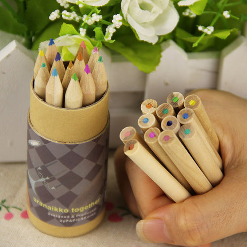 Natural Colored Pencils - 12 colors