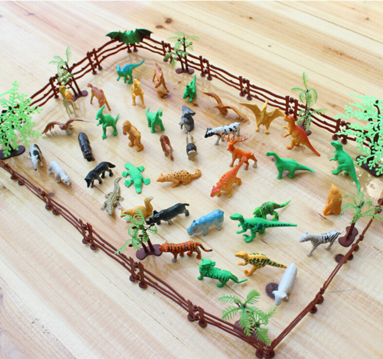 Welcome to the Dinosaur Zoo 68 pcs set
