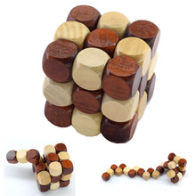 Brain Teaser Wooden Magnetic Infinity Puzzle