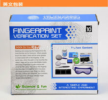 Fingerprint Verification Experiment Kit