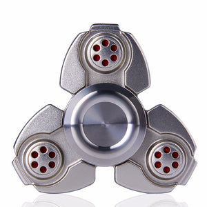 Tri-Fidget Spinner Metal EDC Hand Finger Spinner Anxiety Stress Relieve Toys Gift (MB0424)