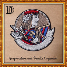 Courtly Cards - Art Nouveau Style Patches