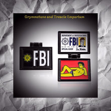 FBI Flip Up X-Files Pin