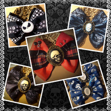 Handmade Collection of Punk and Gothic Hair Bows