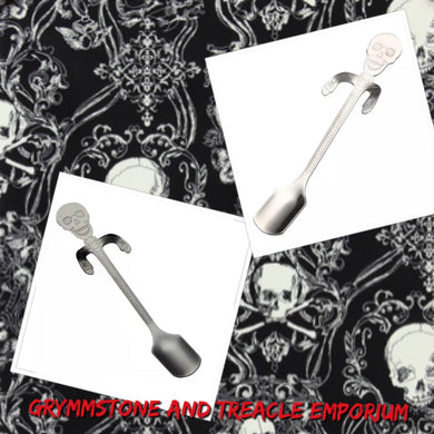 Skeleton dessert spoon