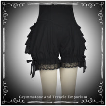 Bloomers with Lace Trimmed Ruffles