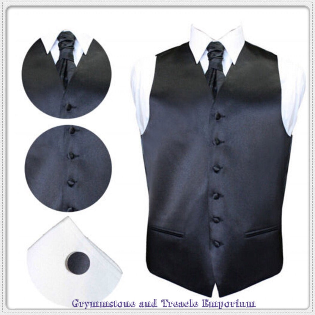 Waistcoat Set - with Cravat and Cufflinks