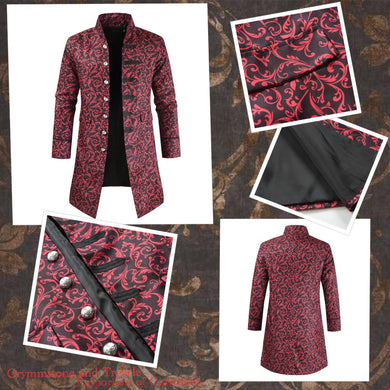 Baroque-ing Bad Victorian Frockcoat - Size - Chest 112cm
