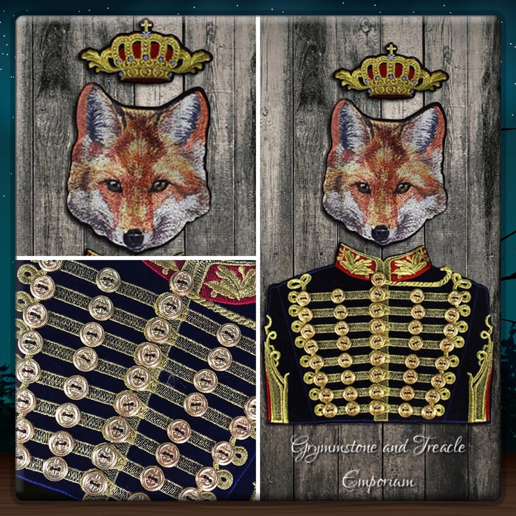 Foxy Royalty Patches