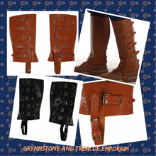 Gaiters/Spats - with Adjustable Straps