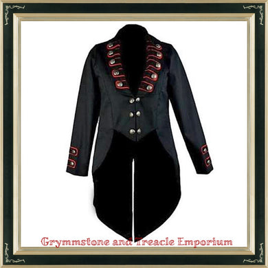 Gothic Military Tailcoat