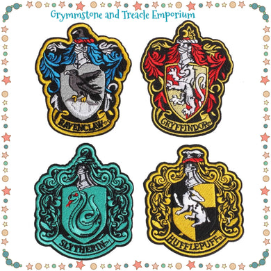 Hogwarts Ornate House Crests