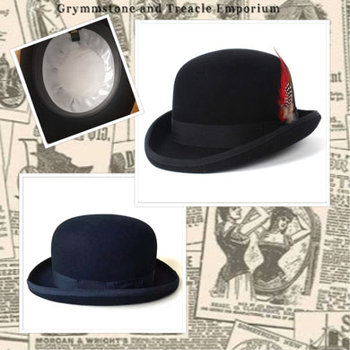 English Bowler Hat black
