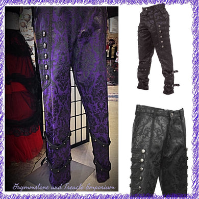 Men's brocade trousers.