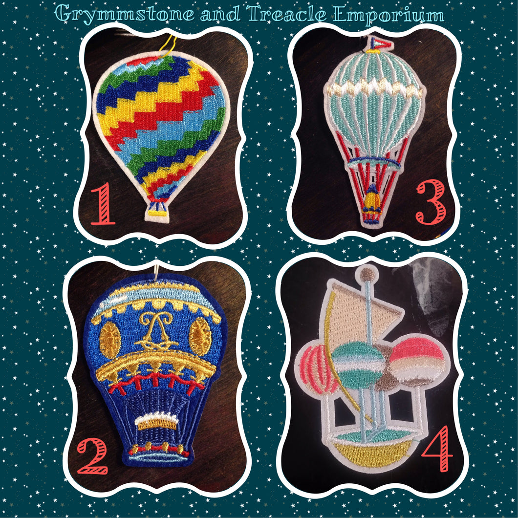 Hot Air Balloon Patches