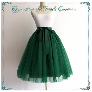 Tulle Layered Petticoat Skirt