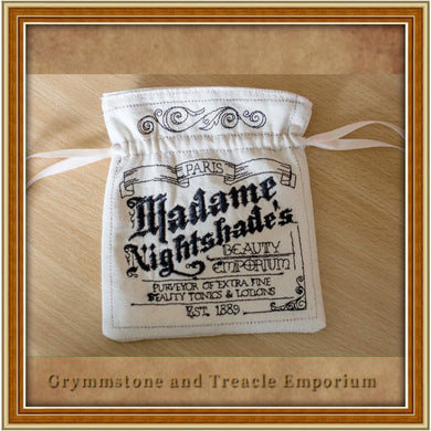 Madame Nightshade's Drawstring Pouch