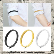 Sleeve holder sleeve garter