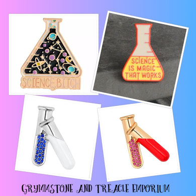 Science Brooches/Pins
