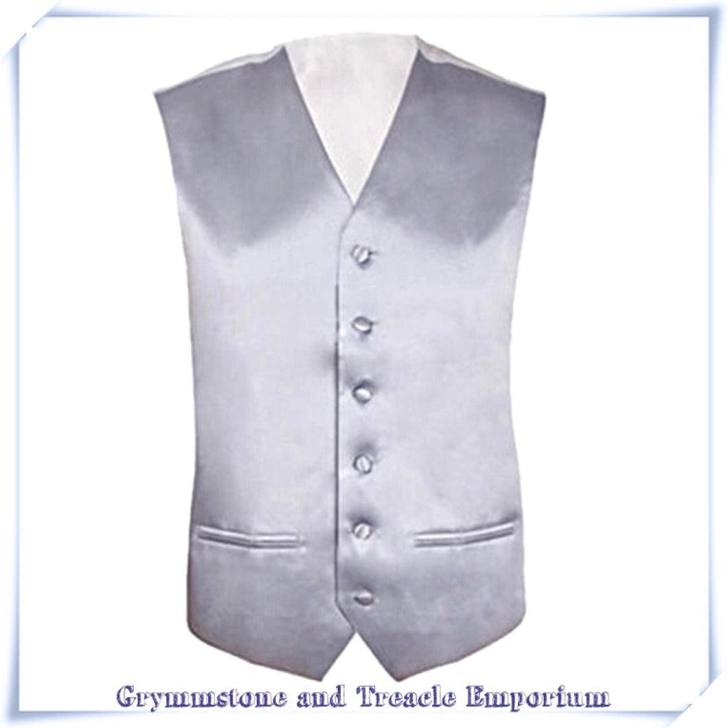 Waistcoat - Pale Pewter