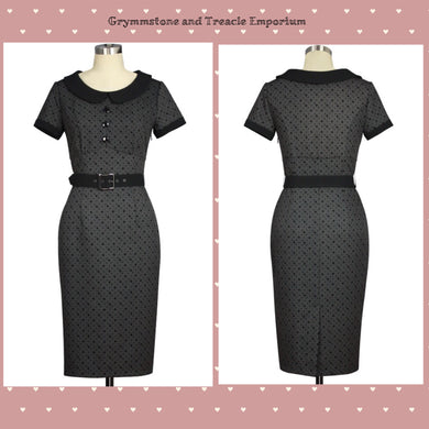 Vintage Style Wiggle Dress Fifties