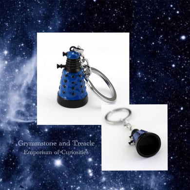 Tiny Dr Who themed Dalek Keyring