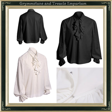 Renaissance Shirt with Bishop Sleeves